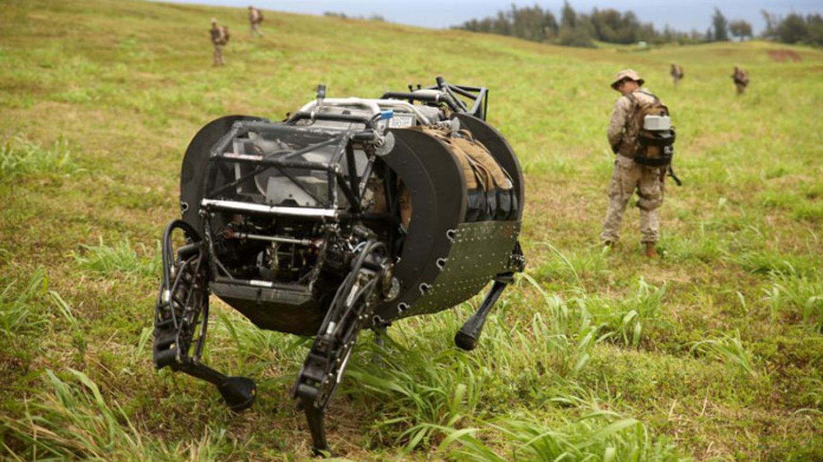 Us Military Says Robotic Pack Mules Are Too Noisy To Use