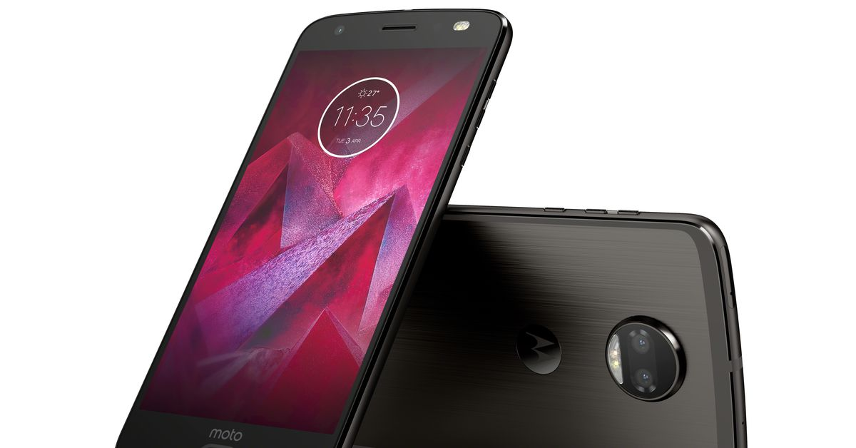 The Moto Z2 Force doubles the cameras and keeps the shatterproof screen