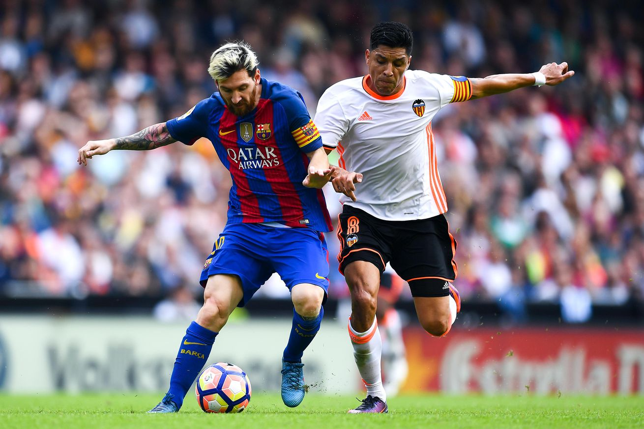Валенсия - Барселона смотреть онлайн 7 октября 2018