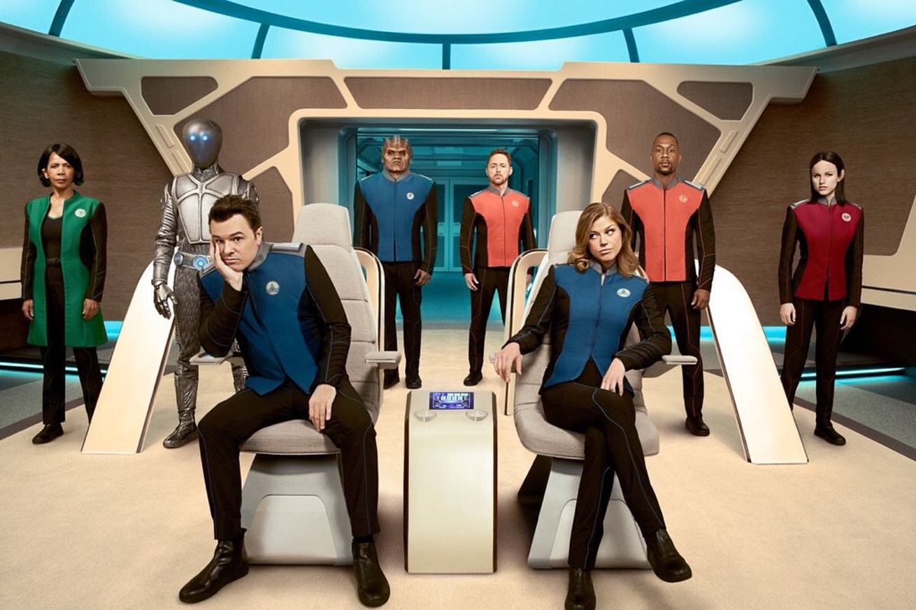 Seth MacFarlane's upcoming TV series looks like a parody of classic space adventure shows