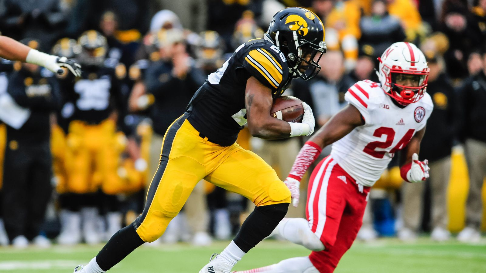Image result for Iowa beats Nebraska 2016 football