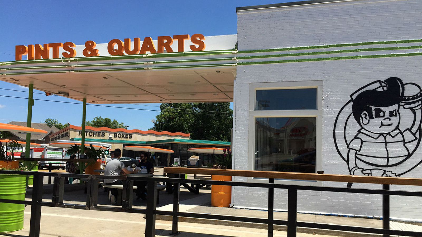 Pints & Quarts Now Slinging Burgers and Booze on Ross - Eater Dallas
