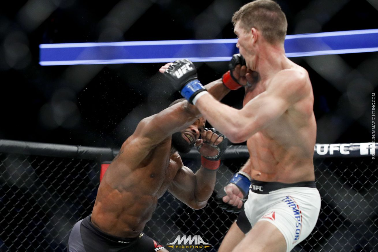 community news, Dana White had Stephen Thompson winning 'not as good' rematch with Tyron Woodley
