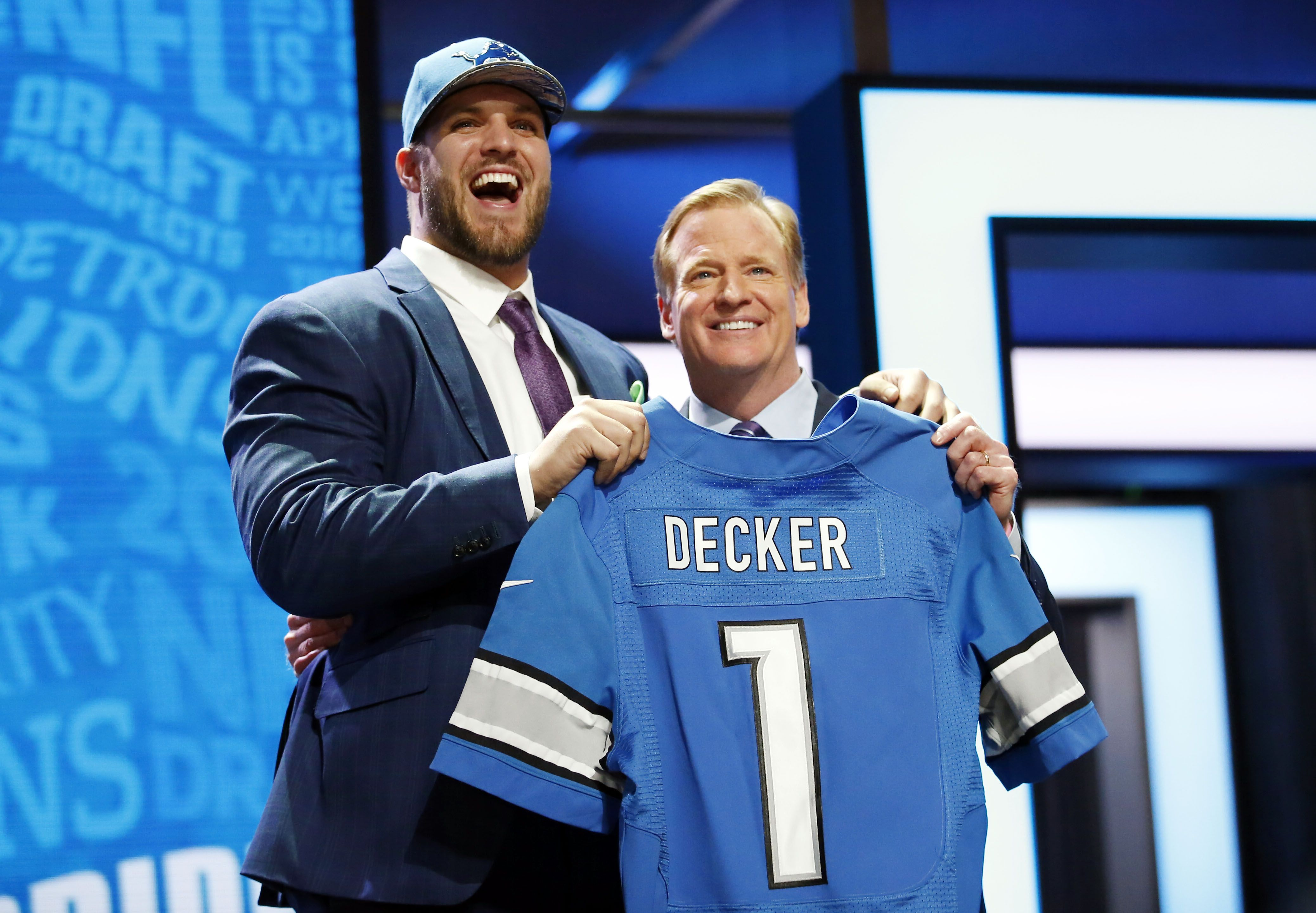 Giants Lions What if Taylor Decker were a Giant Big Blue View
