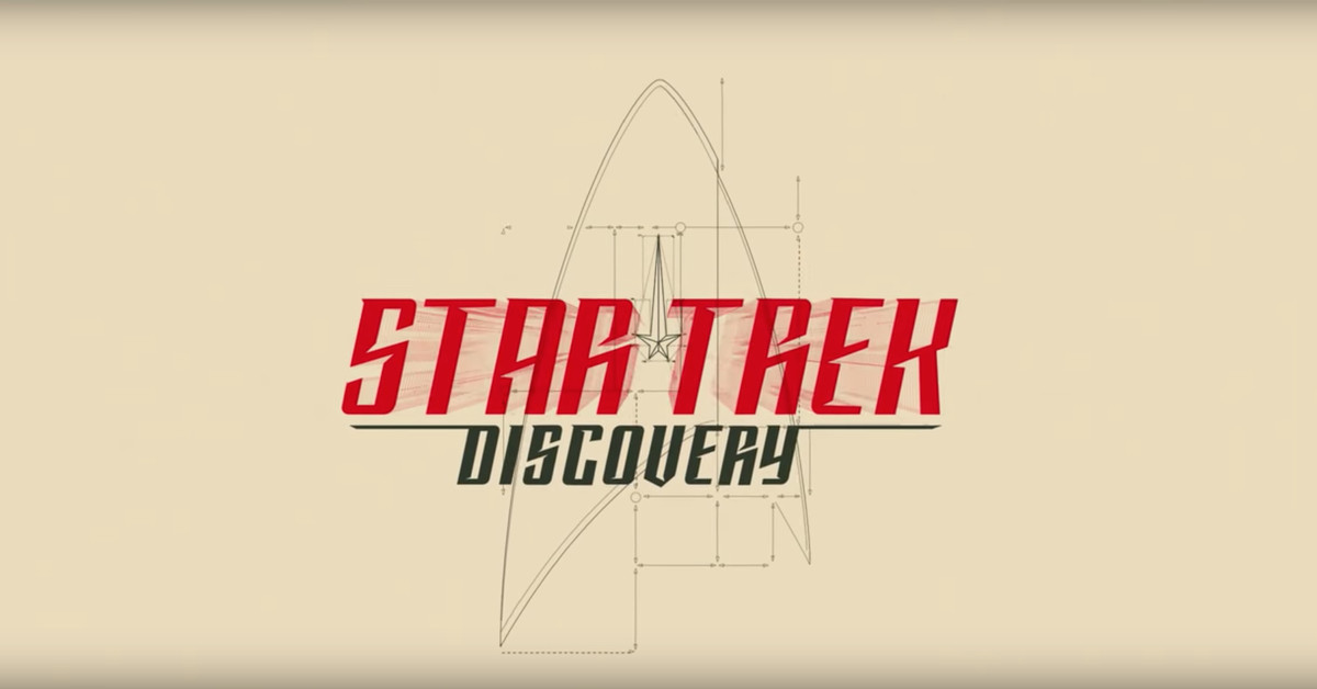 Watch Star Trek: Discovery's fantastic main title sequence