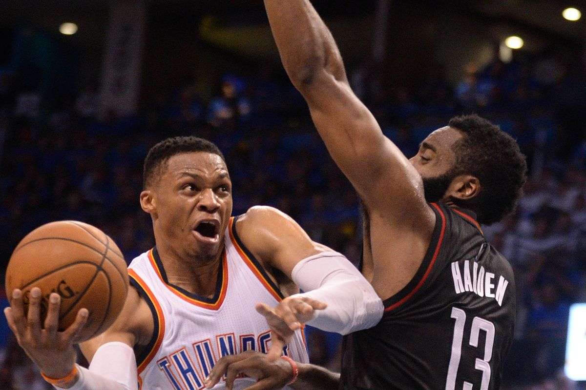 Thunder's Russell Westbrook shuts down reporter for asking Steven Adams legit question