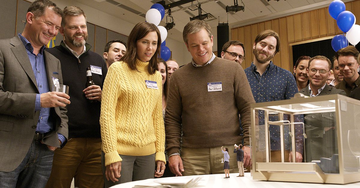 Downsizing Takes The Dullest Path Through A Brilliant