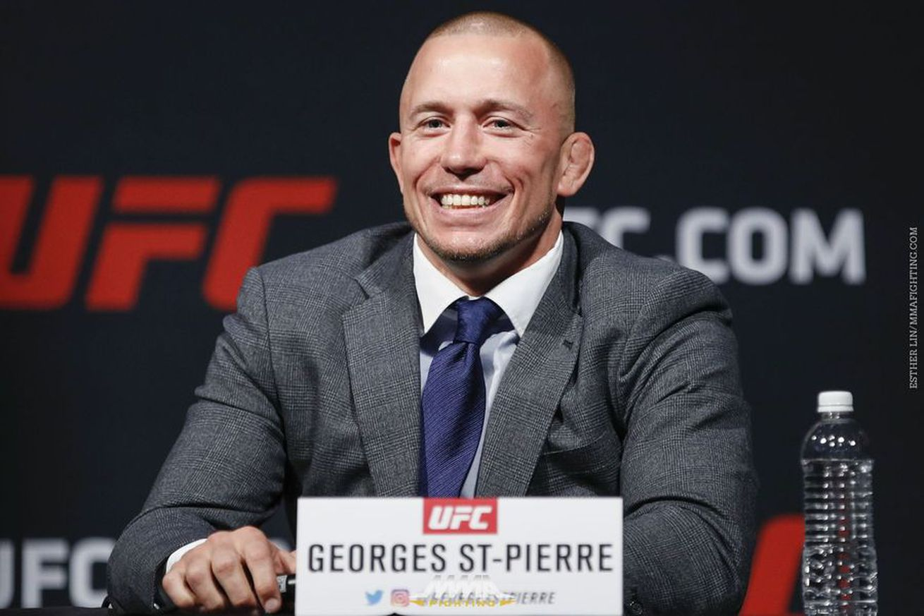 Georges St Pierre reacts to Dana White's threat to cancel Michael Bisping fight
