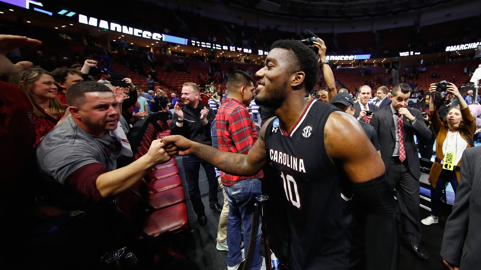 South Carolina Fans Brought The Sec Chant To March