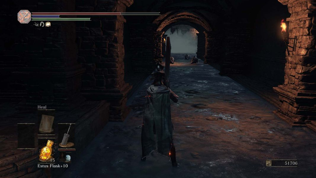 dark souls 3 how to get down the cleansing chapel