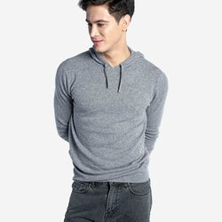 """Grana <a href=""""https://www.grana.com/men-s-cashmere-pullover-hoodie.html?size=205&color=251"""">Cashmere Pullover Hoodie</a>, $149"""