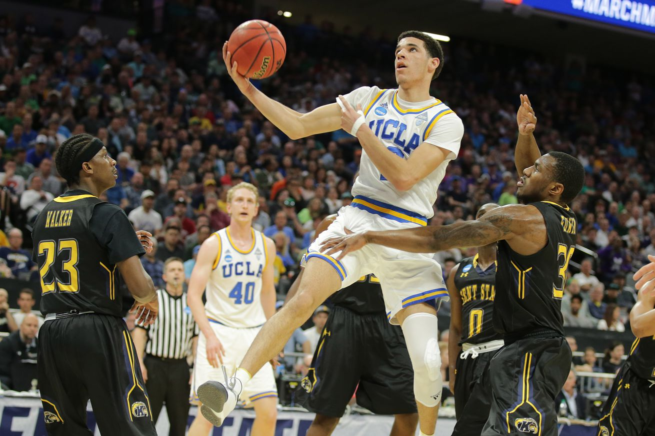 The Lonzo Ball show is taking over the NCAA Tournament