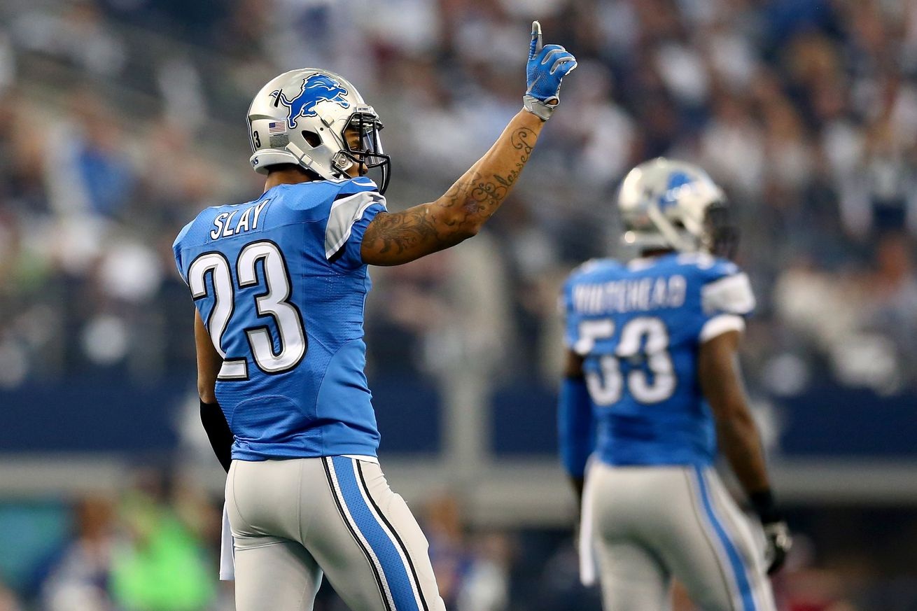 NFL Jerseys Cheap - Lions notes: Darius Slay, Calvin Johnson, more - Pride Of Detroit