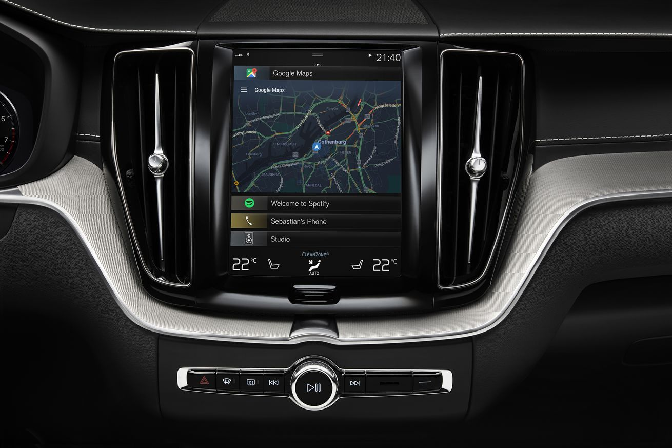 Audi and Volvo will use Android as the operating system in upcoming cars