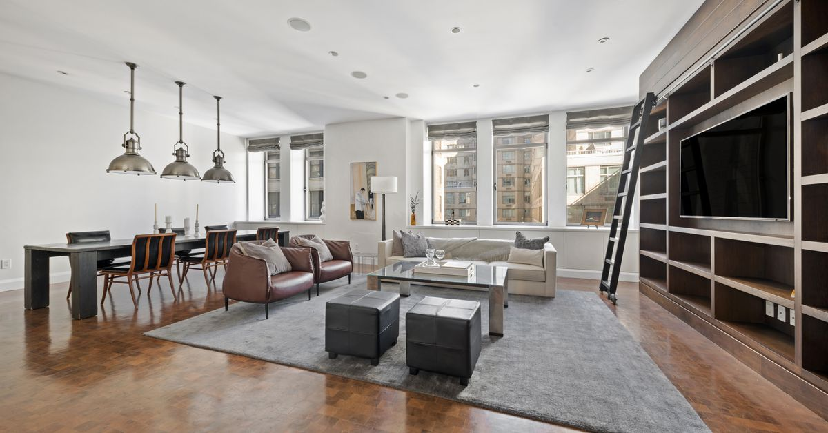 Bobby flay s chelsea mercantile apartment now seeks 6 5m for Chelsea nyc apartments for sale