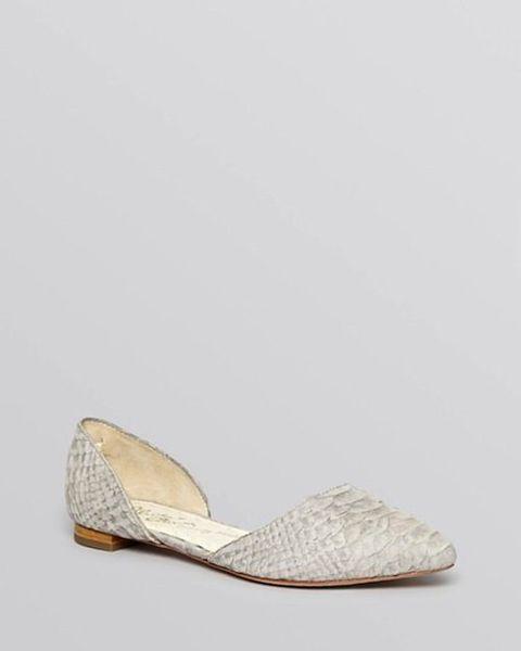Dainty Elegant Classic 50 Bridal Flats Perfect For