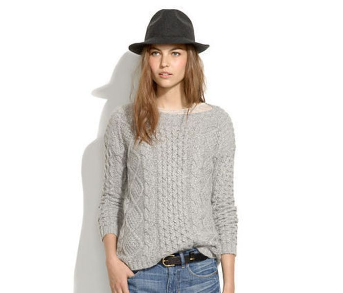 Zara Square Cut Sweater 3