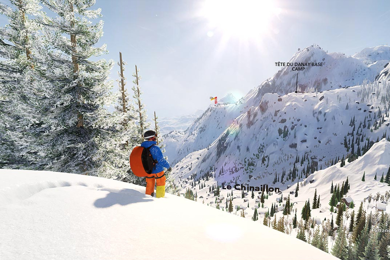 steep is nothing like ssx or any other blockbuster game for that matter