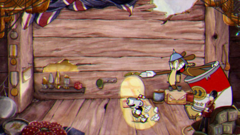 how to use super in cuphead pc