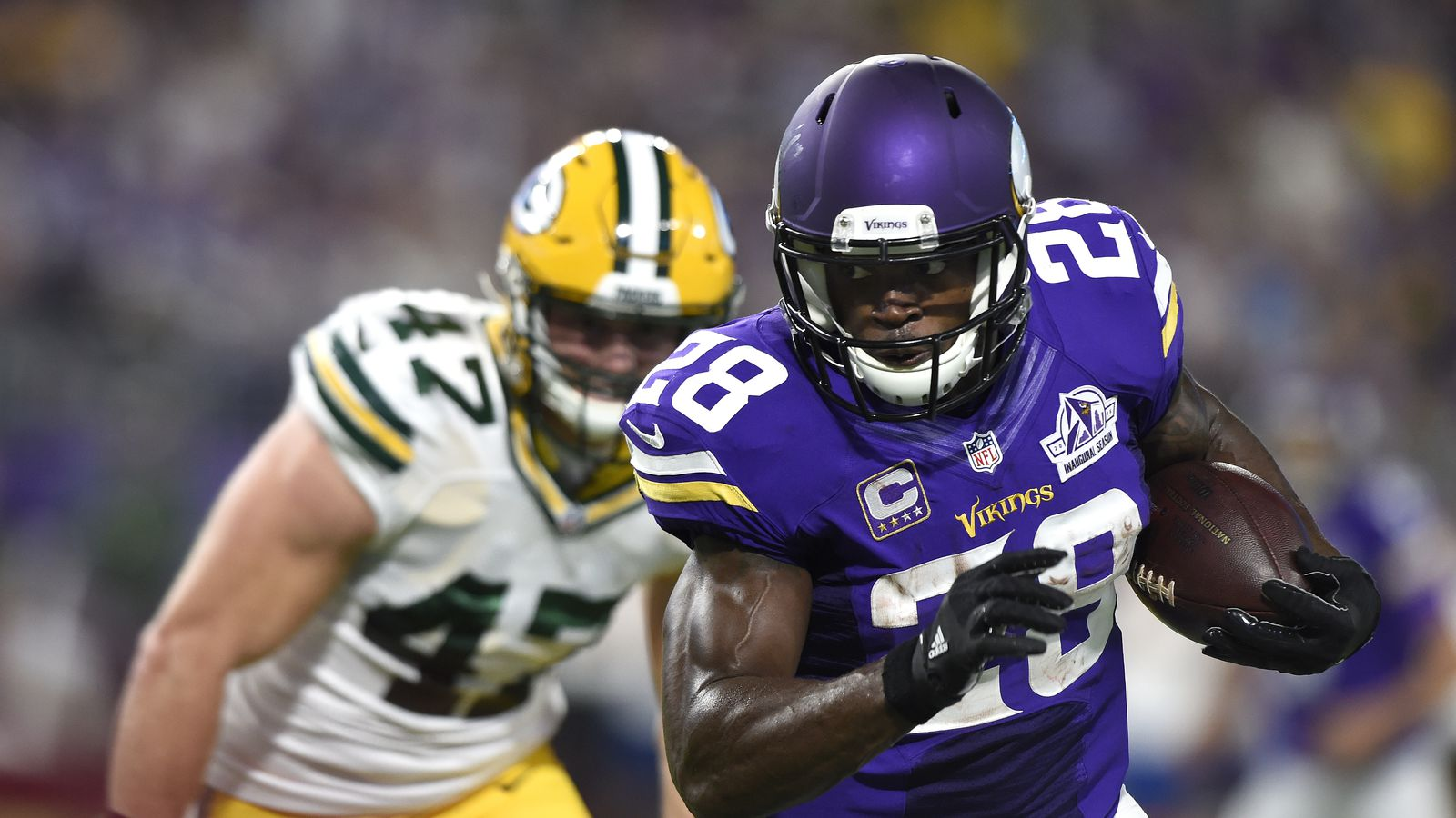 Adrian Peterson probably doesn't have the big free agency market he says he does