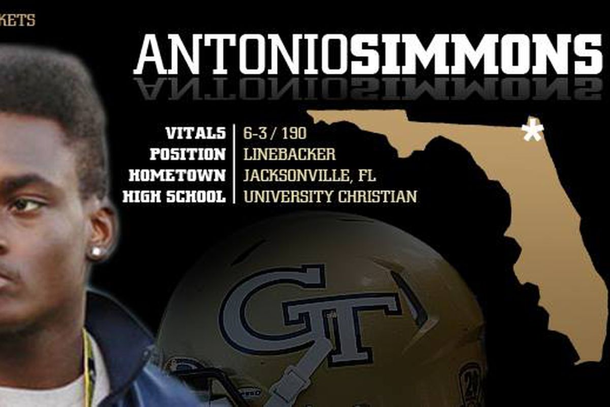 Georgia Tech Yellow Jackets Recruiting: Meet Antonio ...
