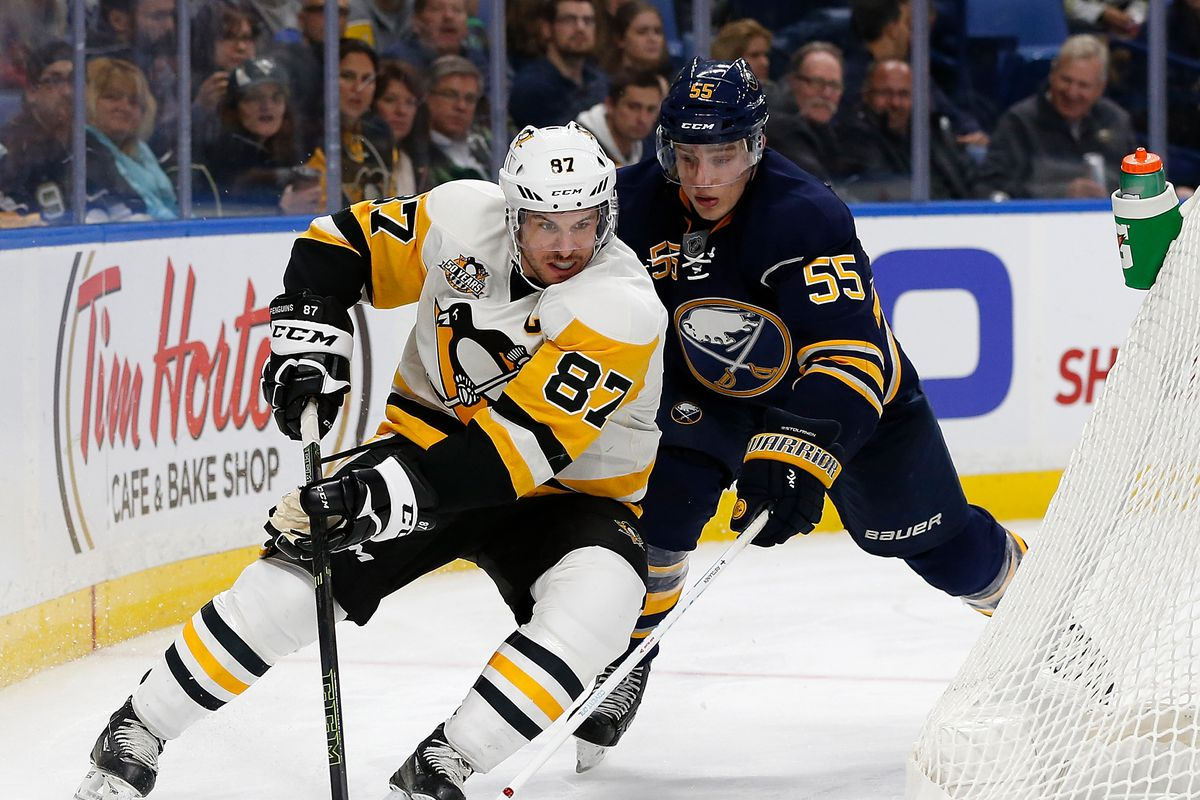 Penguins clinch play-off berth with win over Sabres