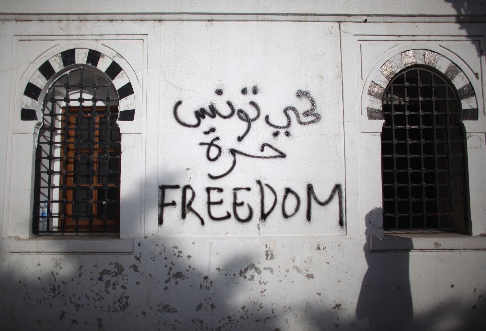 Freedom Graffiti Tunisia