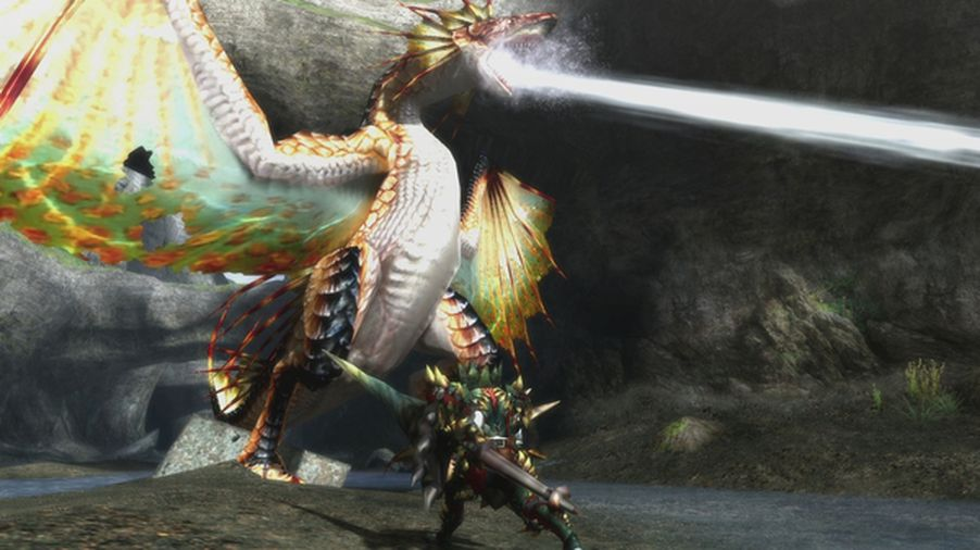 Capcom shows off monster hunter 3 ultimate s plesioth for Piscine wyvern