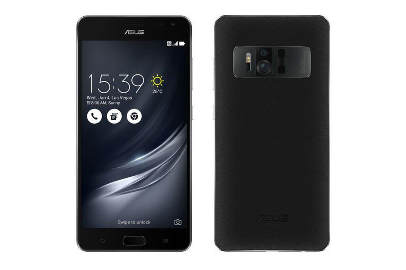 Asus ZenFone AR revealed, the second Google Tango phone