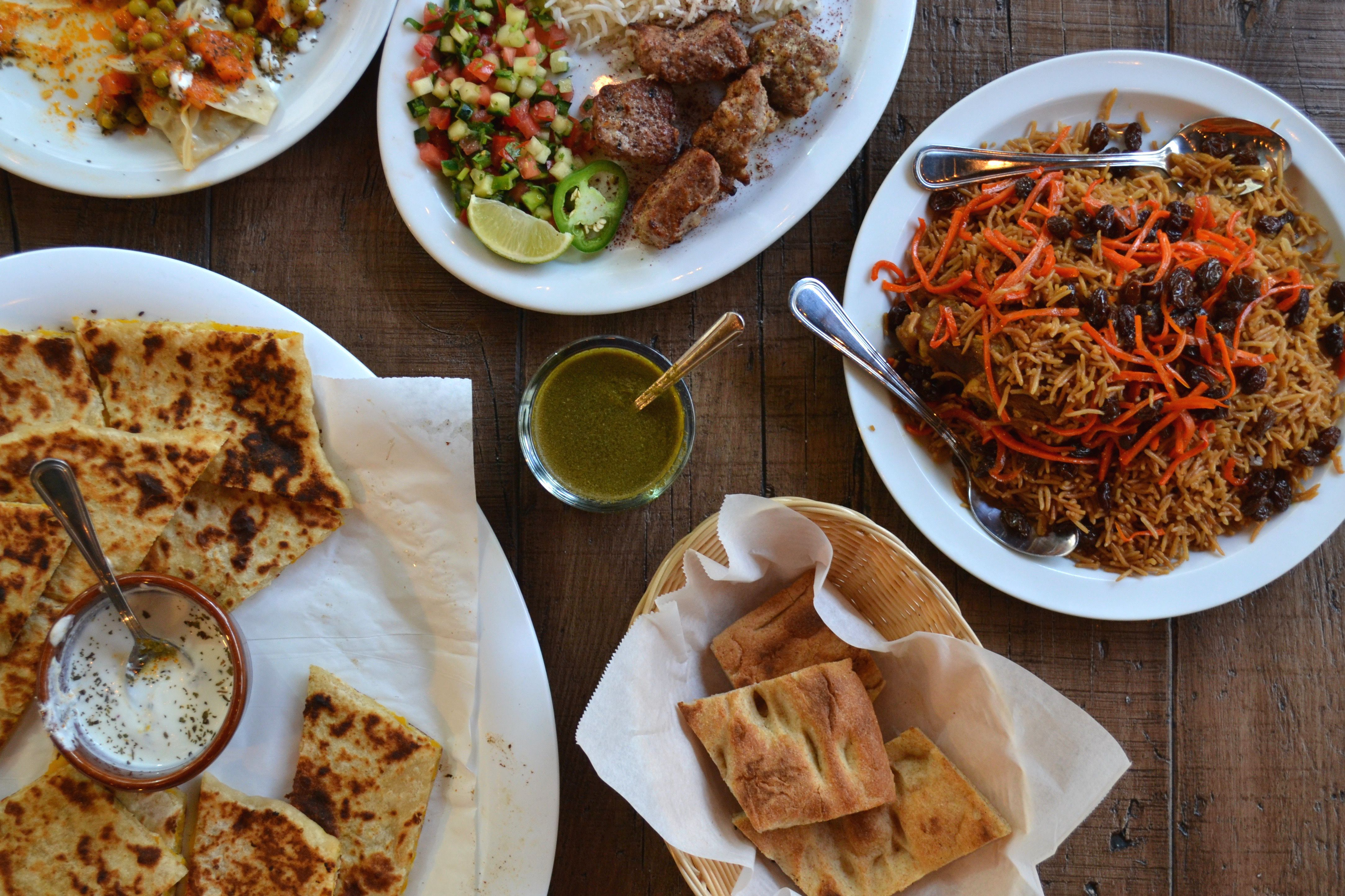 What to eat at this new afghan restaurant in beverly hills for Afghan cuisine restaurant