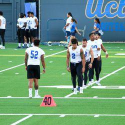 2017 UCLA Football Fall Training Camp Practice #2