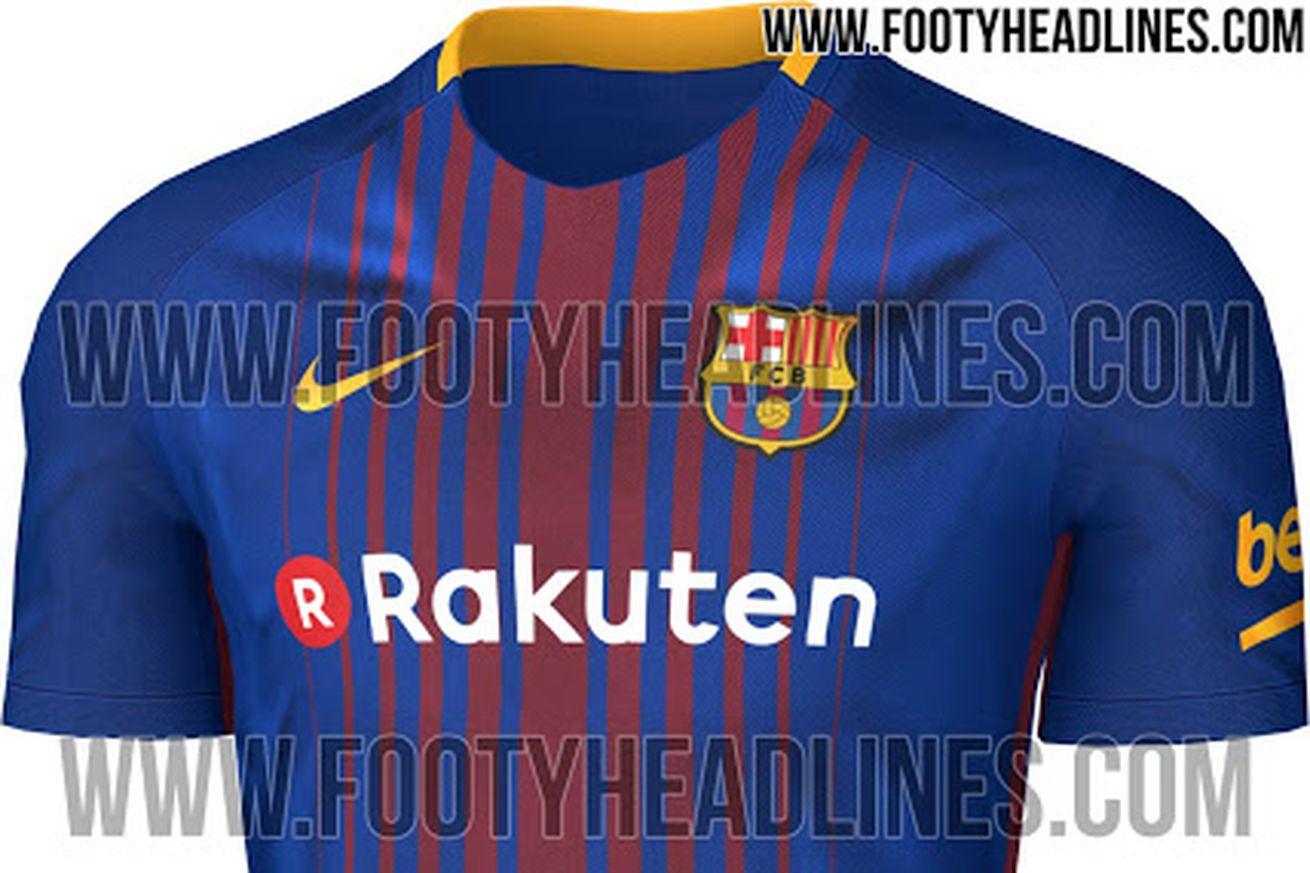 66c02b1d6e1 Barcelona 2017 18 home kit leaked