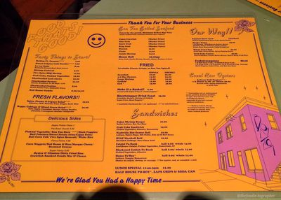 Bon Ton menu