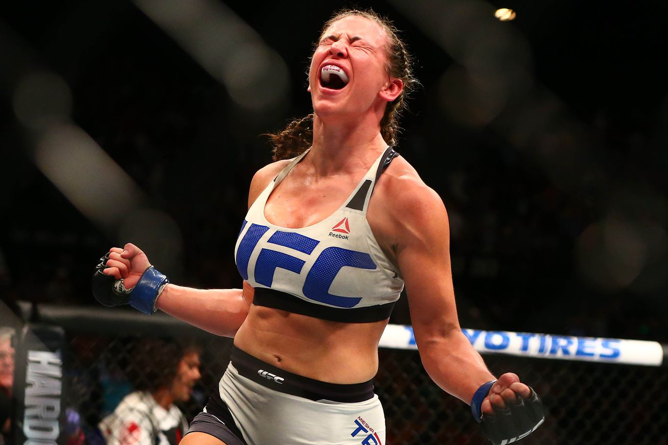 community news, Trump 2016: UFC champ Miesha Tate gives credit to Donald Trump for denouncing Ronda Rousey (Video)
