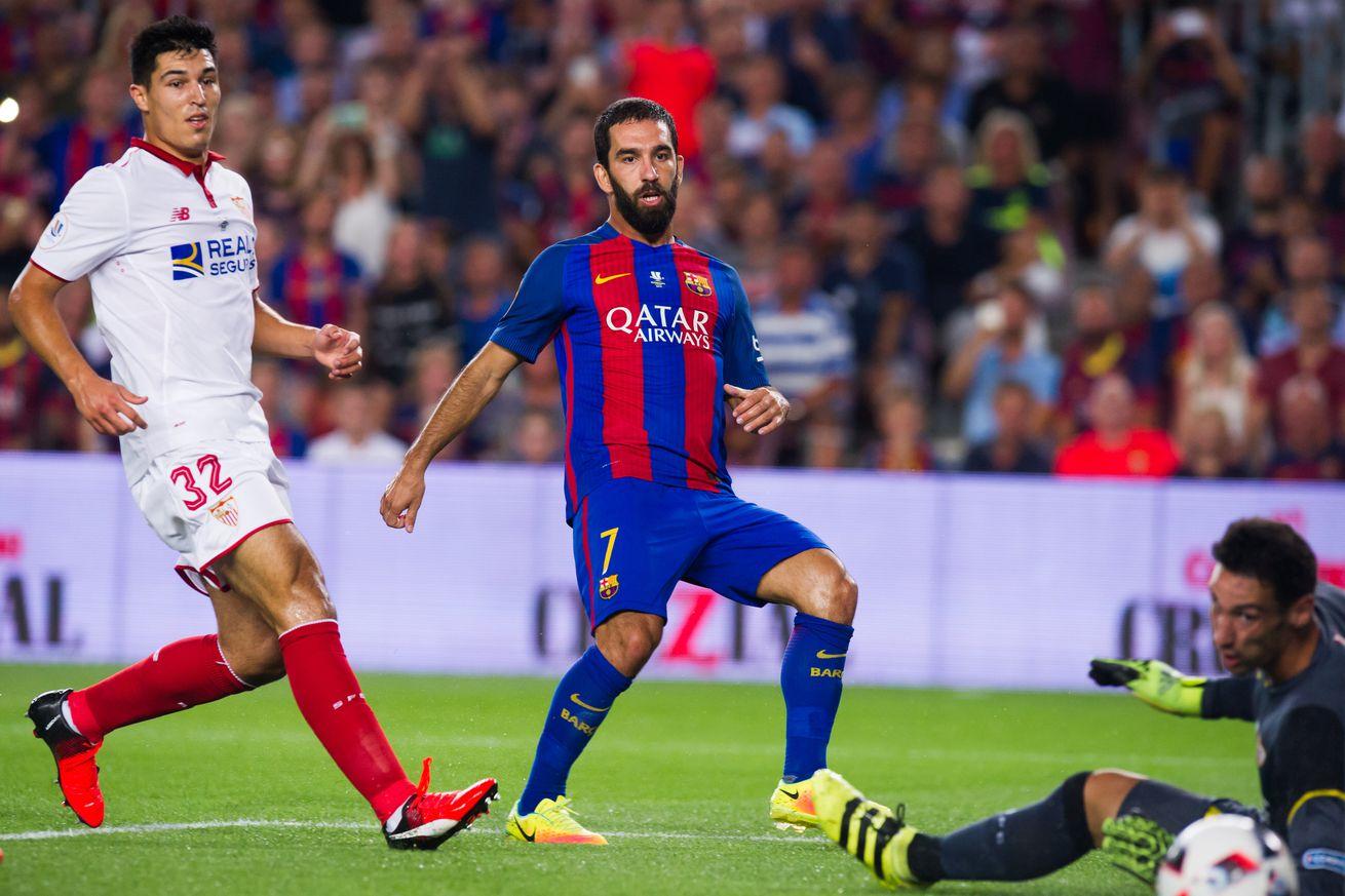 Barcelona Vs: Barcelona Vs Sevilla, 2016 Spanish Super Cup: Final Score