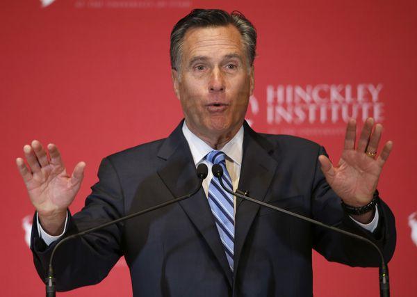 Mitt Romney desperately bids for relevance.