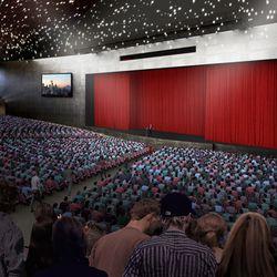 The Seattle Center Amphitheater