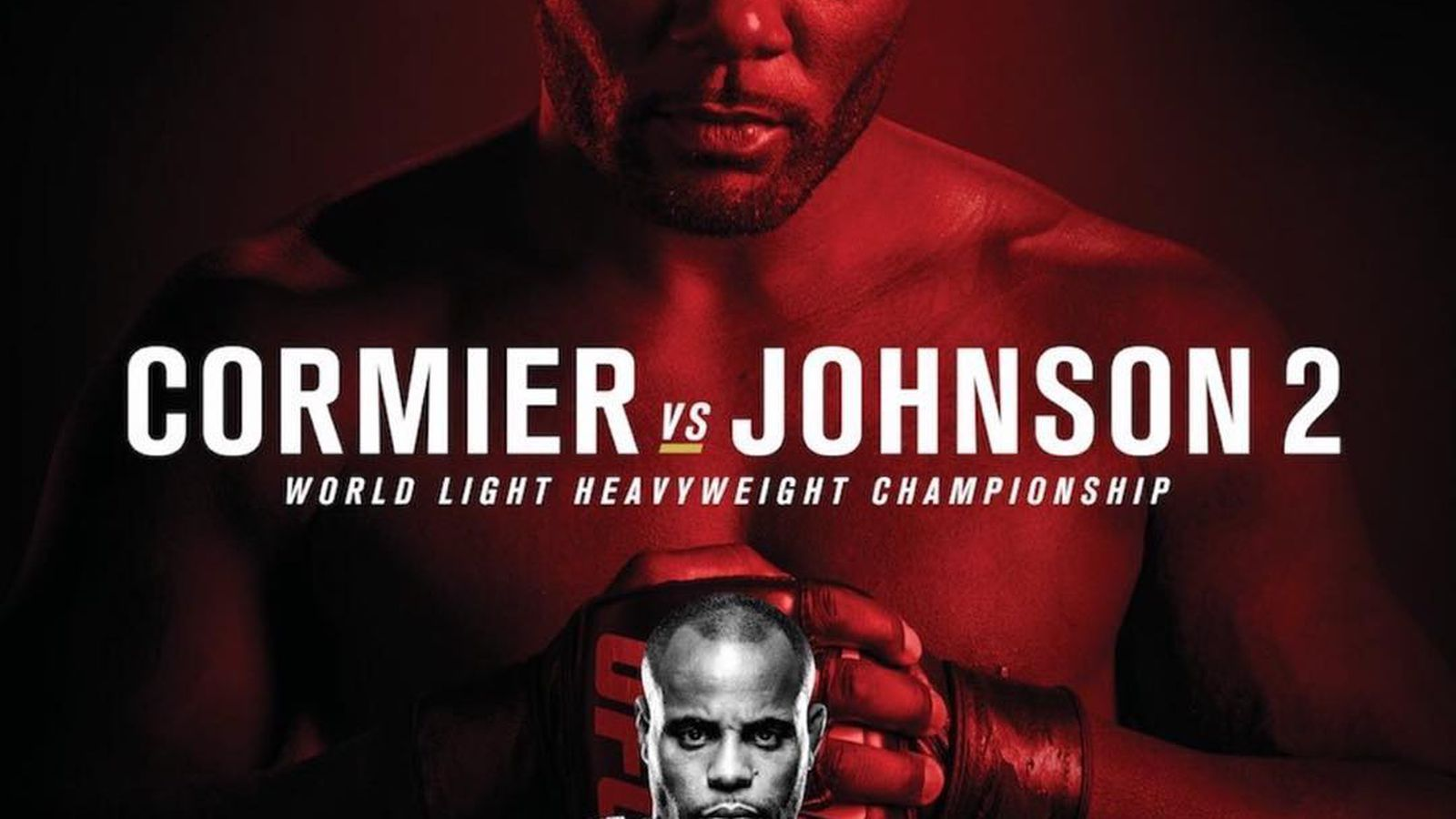 UFC 210 poster: Daniel Cormier looks like Pinhead from Puppet Master ... and he's NOT happy about it