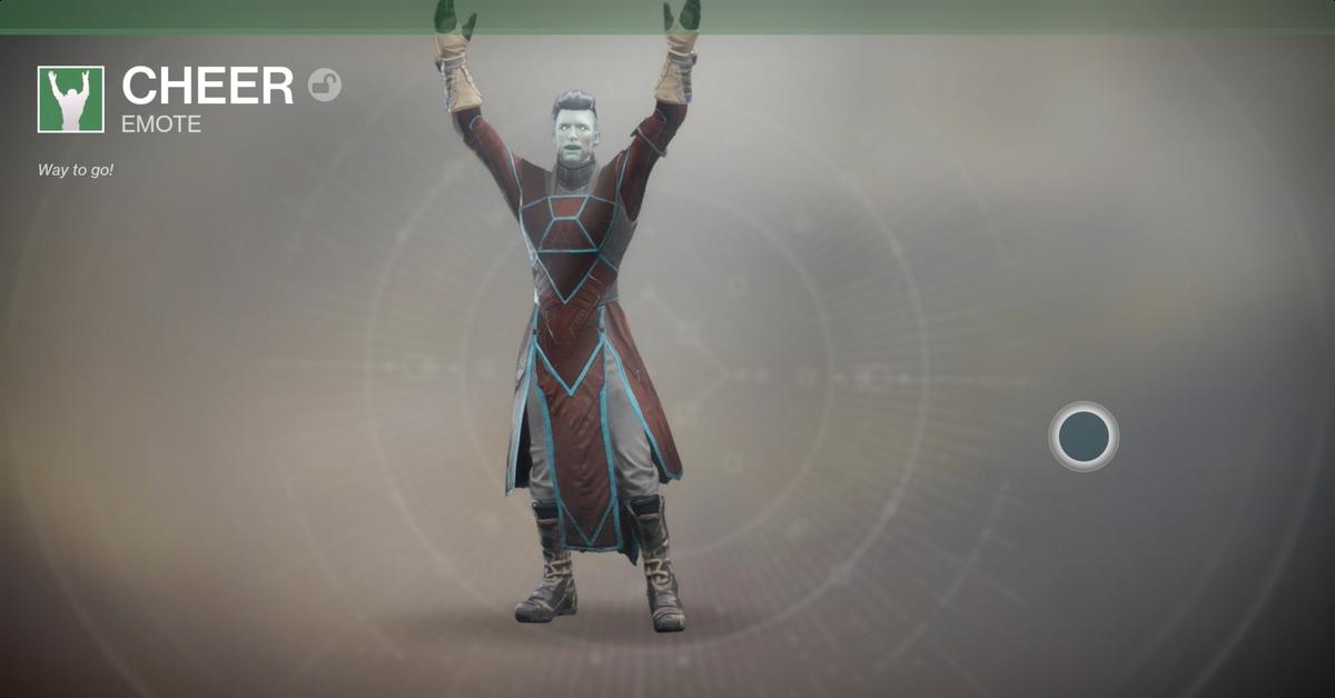 Destiny Dance Gif: Destiny 2 Guide: Emotes