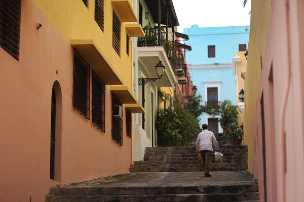Old San Juan is really, really pretty.