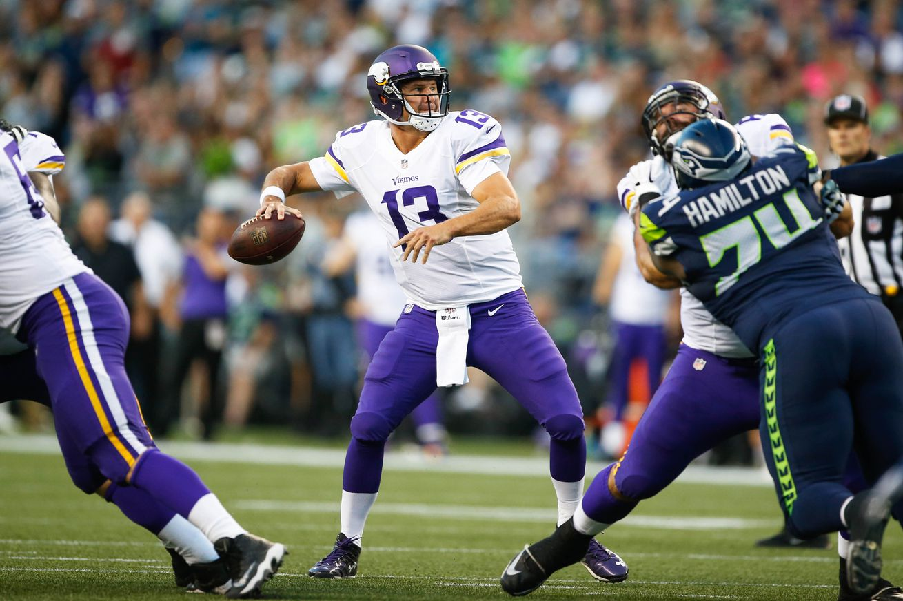 NFL Jerseys Sale - Taking a Look at Shaun Hill - Daily Norseman