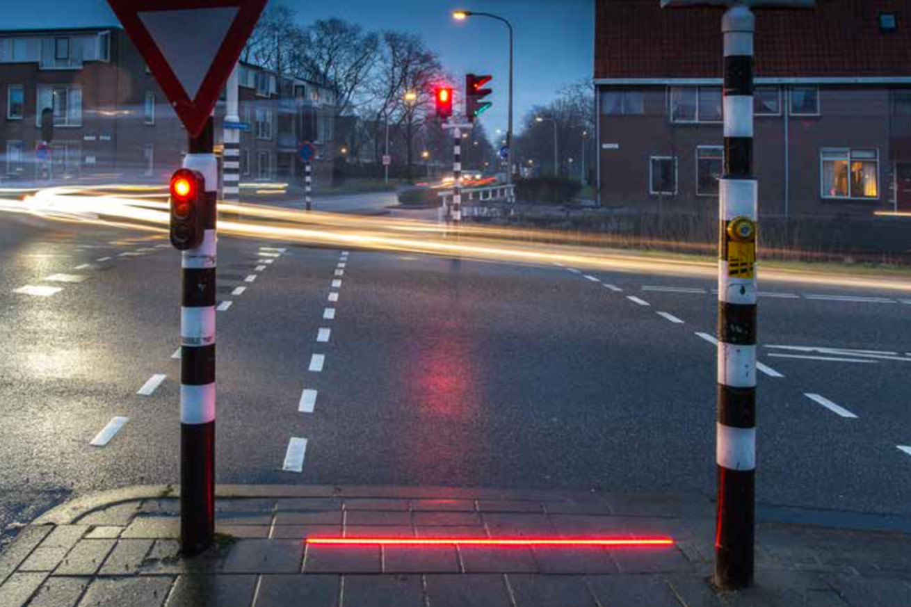 Lightlines are humanity's latest attempt to protect smartphone zombies