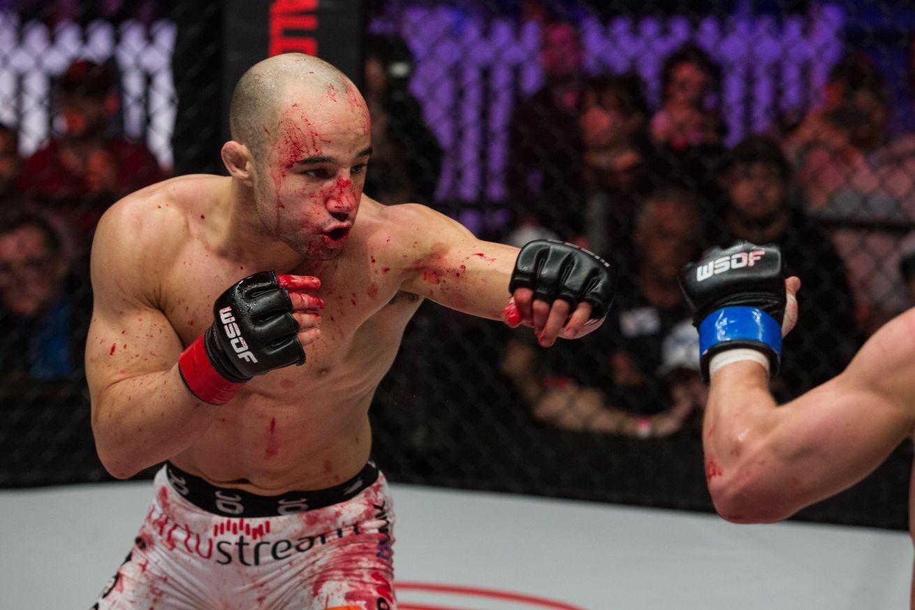 Highlights! Watch WSOF 32s Marlon Moraes turn Josh Hills lights out with vicious head kick