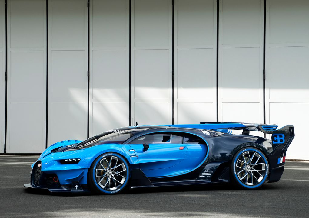 this is the real live version of bugatti s vision gran