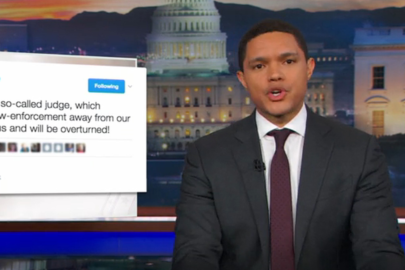 the daily show is opening a physical library of trump tweets