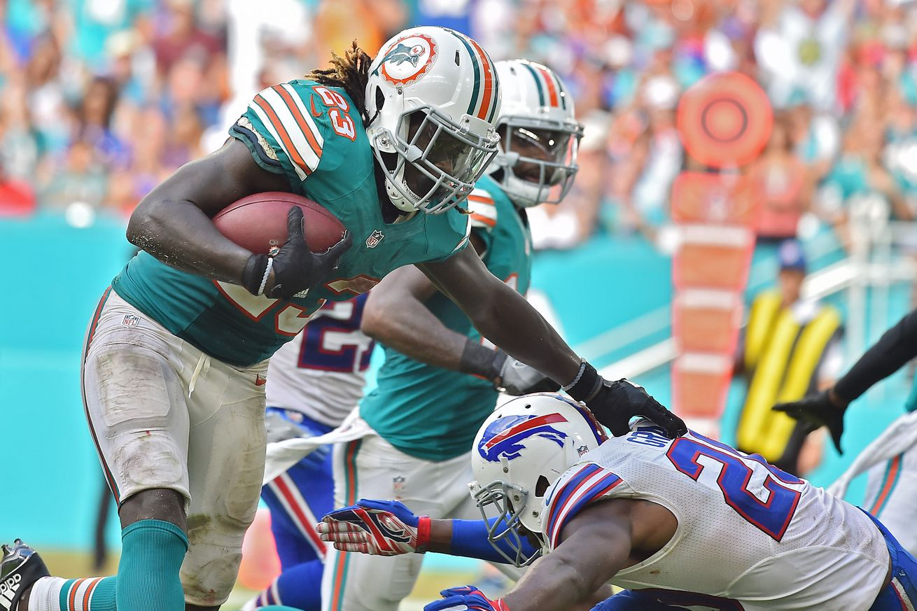 The Splash Zone 10/27/16: Jay Ajayi Is AFC Offensive Player Of The Week...Again