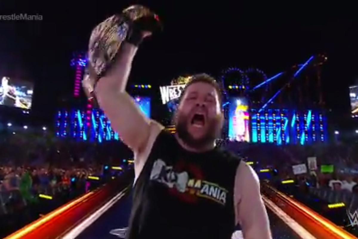 Kevin Owens stunned Chris Jericho to claim the WWE United States Championship