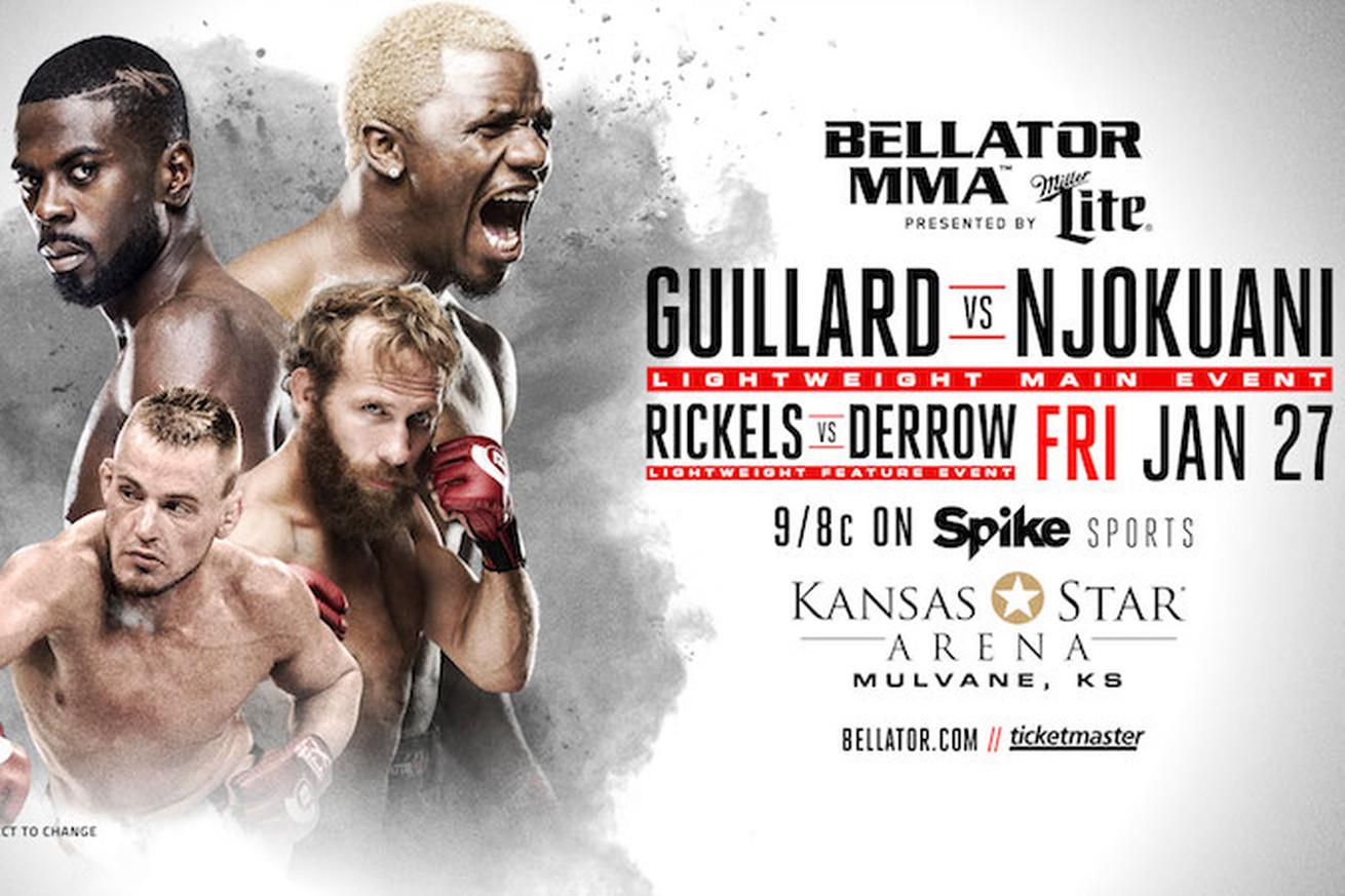 community news, Bellator 171 main event between Melvin Guillard vs Chidi Njokuani set for Jan. 27