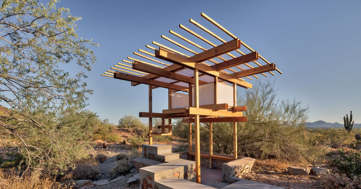 Frank Lloyd Wright Architecture School Graduate Built This