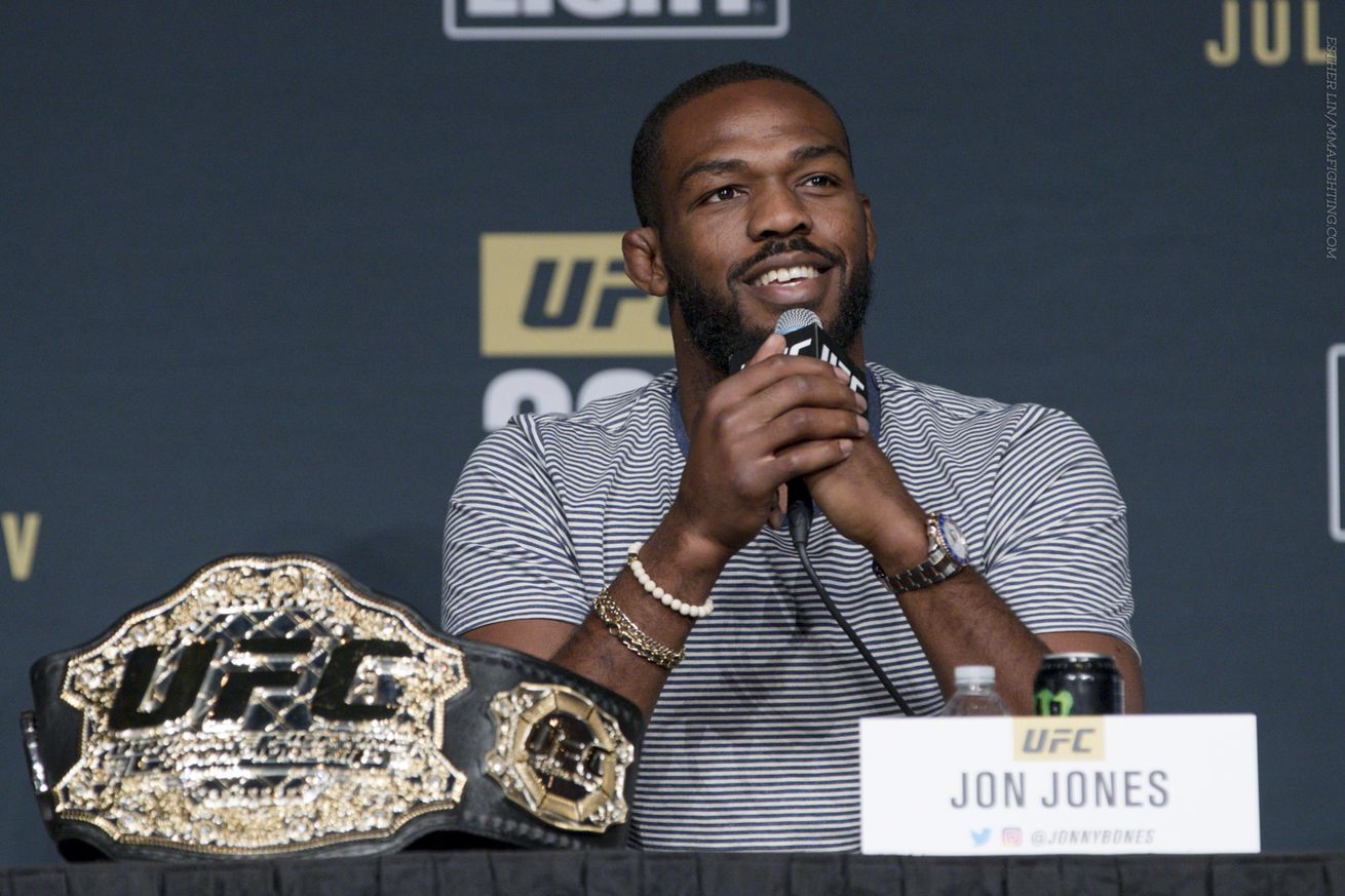 UFC releases statement about Jon Jones removal from UFC 200